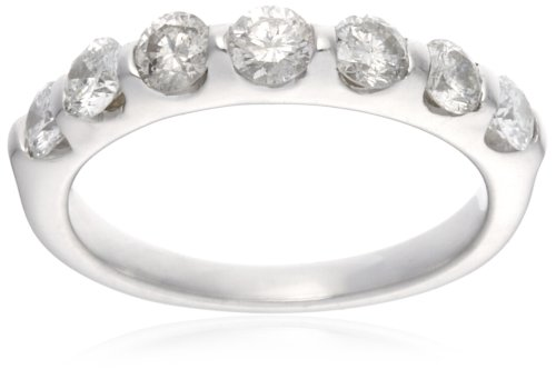 18ct White Gold AMR261050 Ladies 1.00ct Diamond Band Ring