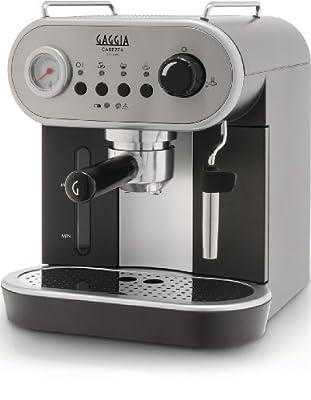 Gaggia RI8525/08 Carezza Manual Coffee Machine - grey by Gaggia