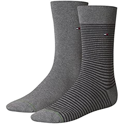 Tommy Hilfiger - Th Men Small Stripe Sock 2P, Calze