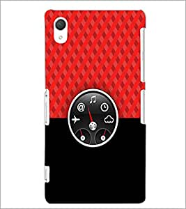 PrintDhaba Funny Meter D-3516 Back Case Cover for SONY XPERIA Z3 (Multi-Coloured)