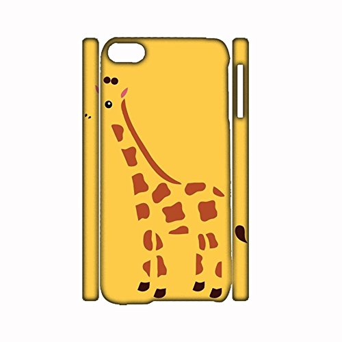 Creativity For Apple Touch 6 Pc With Giraffe Phone Cases Girls (Ipod Touch Lego Case)