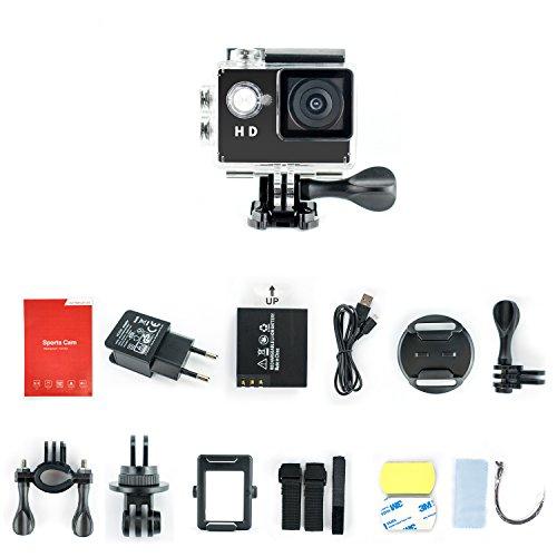 Yuntab-fotocamera-sport-dazione-Full-HD-1080P-impermeabile-LCD-da-20-a-120--Obiettivo-DVR-esterna-del-casco-camma-di-azione-della-macchina-fotografica-per-mountain-bike-Paintball-Pattinaggio-Diving-Ne