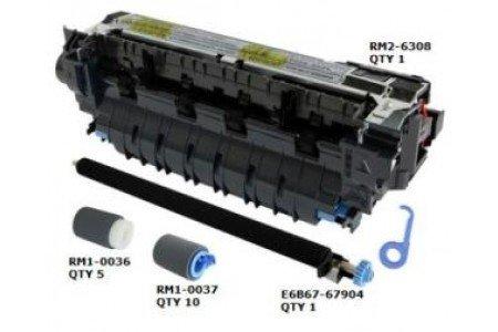 Preisvergleich Produktbild Maintenance Kit für HP LaserJet Enterprise M 604 dn / n / HP LaserJet Enterprise M 605 dn / n / x / HP LaserJet Enterprise M 606 dn / x, Heizung 220V, ca. 225.000 Seiten, ersetzt F2G76A-67901, F2G77A, bestehend aus RM2-6308, Pickup Roller RM1-0036-020CN, Feed Separationsroller RM1-0037-020CN, Transferroller E6B67-67904, Wartungskit, Service Kit