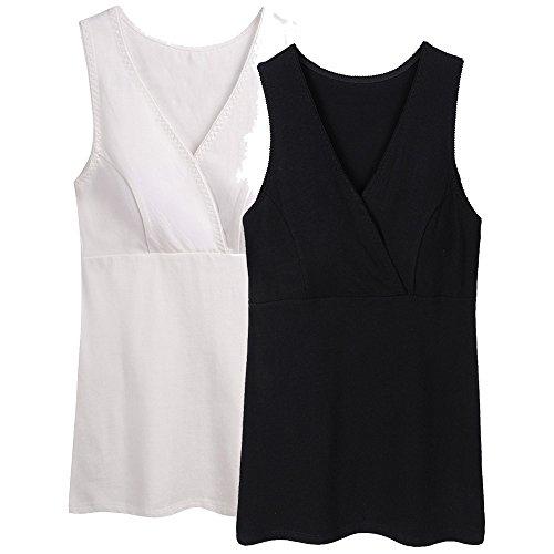 ZUMIY Nursing Top, Damen Still-Shirt Stillen Kleidung Schwangerschaft Still-top