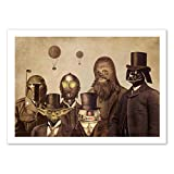 WALL EDITIONS Art-Poster - Victorian Wars - Terry Fan - Format : 50 x 70 cm