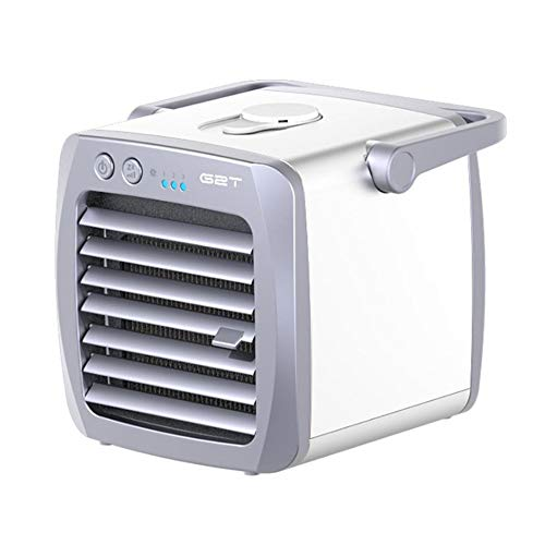Tragbarer persönlicher luftgekühlter Mini-Klimaanlagenlüfter Luftkühler für die Kühlung und Kühlung von USB-Lüftern für Zuhause, Büro und Reisen -