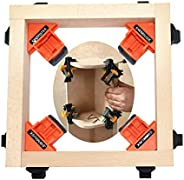 SWMIUSK 90 Degree Right Angle Clamp Adjustable Swing Corner Clamp,Clip Holding Corners for Welding,Wood-Workin