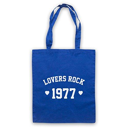Lovers Rock 1977 Reggae Umhangetaschen Blau