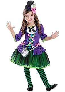 bambine ALICE NEL PAESE DELLE MERAVIGLIE Princess FIABE Lusso Costume UK