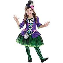amscan Disfraz de gótico Sombrerero Loco gótico para niños ...