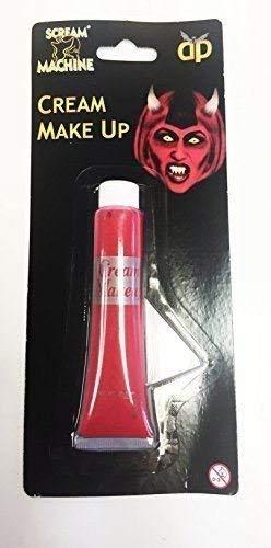 Halloween Red Face Body Paint, Vampire Zombie Devil Kids Verkleidung Make-Up