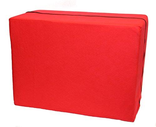 IWH Bandscheiben/Stufenlagerungs-würfel, Rot, 086701 (Feste Würfel)