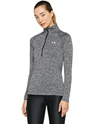 Under Armour Women's Tech 1/2 Zip - Twist Long-Sleeve Shirt