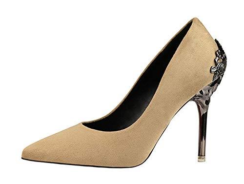 Whl shoes scarpe col tacco donna sandalo con tacco alto smerigliato e scarpe da sposa selvaggia da donna khaki trentotto