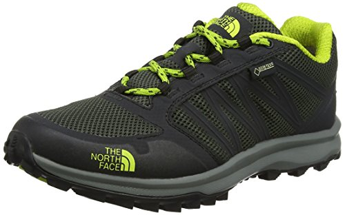 The North Face Herren Litewave Fastpack Gore-Tex Trekking-& Wanderhalbschuhe, Grün (Climbing Ivy Green/Lime Green), 42 EU (Face Green North)