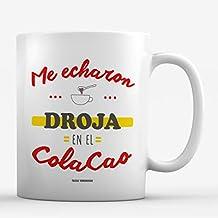 Taza Droja en el Colacao. Frase José Tojeiro. 85