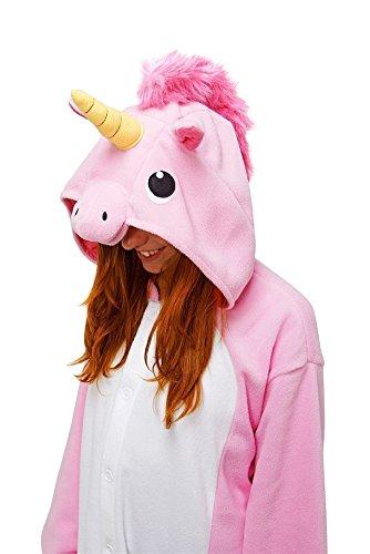 Très Chic Mailanda Damen Strampelanzug Rosa unicorno