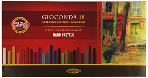KOH-I-NOOR GIOCONDA 8116 Harte Künstler-Pastellkreiden (48 Stück)