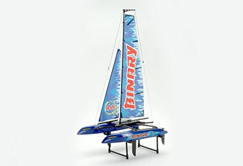 Joysway-Binary-Catamaran-Yacht-RTR-24GHz-Blue