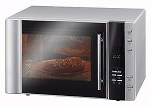 Severin  Microonde, Forno Ventilato e Grill, con Maniglia Professionale, 10 Programmi Automatici, Interno Inox, Capacità 30 Litri