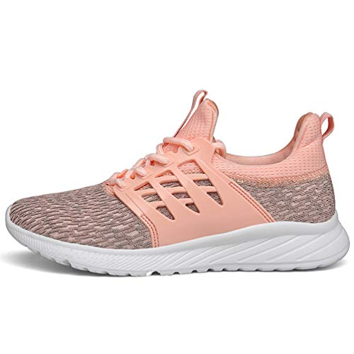 Axcone Homme Femme Baskets Chaussures Sport Outdoor Running Gym Fitness Sneakers Style Running Garcon Fille Respirante- 8085 PK 37