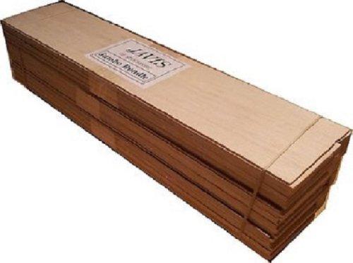 Riesen Jumbo Balsa Bundle: 3 Packungen von 12-16 Stück Balsaholz für die Modellierung von Wargaming
