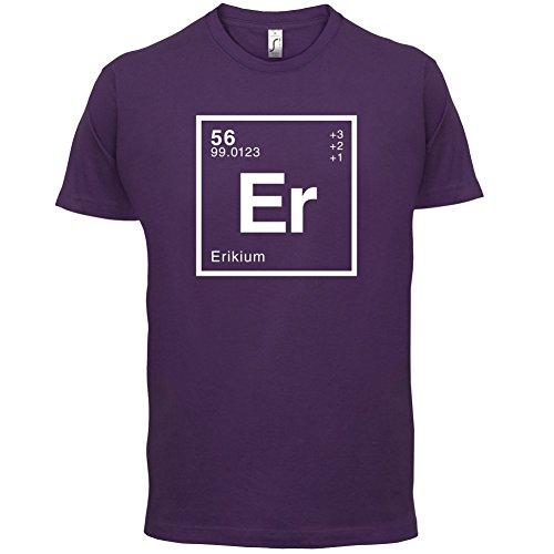 Erik Periodensystem - Herren T-Shirt - 13 Farben Lila