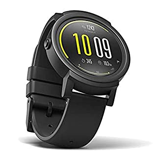 TicWatch E Shadow Smartwatch Intelligente Armbanduhr mit 1,4 Zoll OLED-Display, Android Wear 2.0 (B077NSBVFN)   Amazon Products