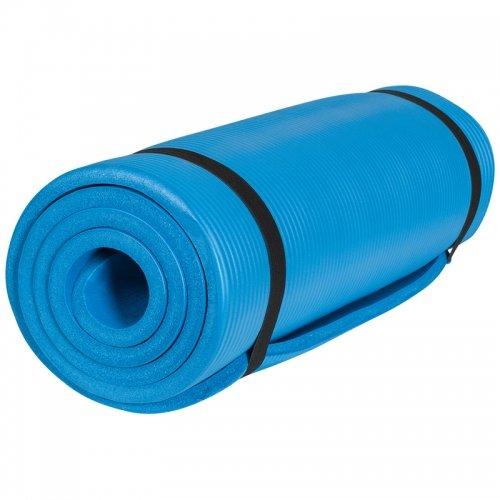Gorilla Sports Yogamatte in verschiedenen Farben und Größen, Royal, 190 x 100 x 1.5 cm, 10000524;508