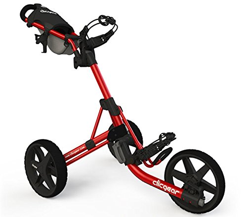Clicgear Erwachsene 3.5 Golftrolley, Red/Black, One Size