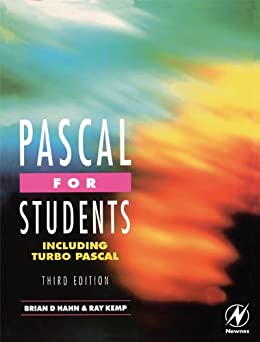 Pascal for Students (including Turbo Pascal) par [Kemp, Ray, Hahn, Brian]