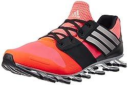 adidas Herren Springblade Solyce Laufschuhe, Rot/Orange/Schwarz (Rojsol/Plteme/Negbas), 43 1/3 EU