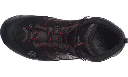 Hanwag Belorado Mid GTX chaussures multi-fonctions noir gris rouge