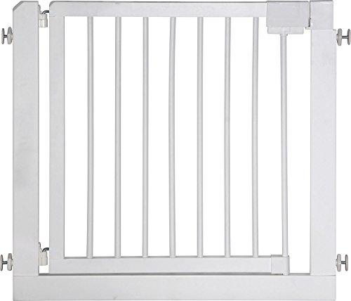IB-Style - Treppengitter / Türgitter KOLBY M | 3 Größen |86 - 92 cm | aus massivem Holz - Weiß