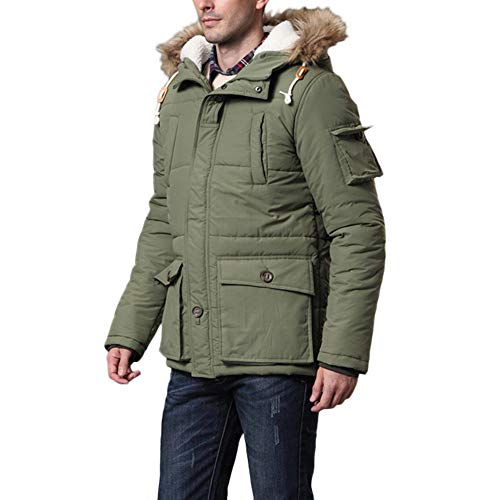 Cappotto uomo inverno sottile invernale con zip da uomo mantieni caldo giacca outwear casuale con cappucio sportiva manica lunga invernale cotone cerniera