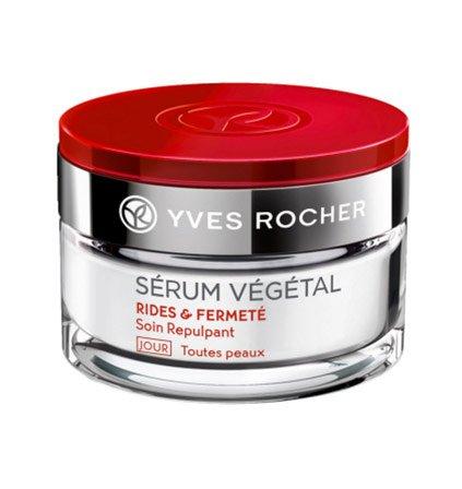 Yves Rocher – SÉRUM VÉGÉTAL-Tagescreme (50 ml): Die aufpolsternde Tagescreme verleiht der Haut