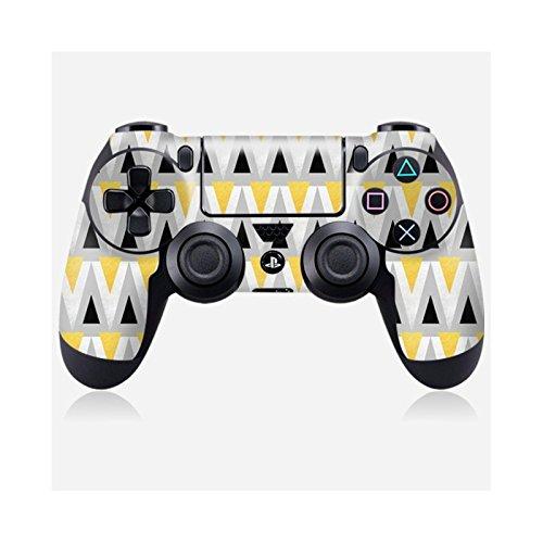 Skinkin Wandtattoo Controller Sony Playstation 4von zu Hause Design Original: Triangle Parade von Elisabeth Fredriksson (Parade-zubehör)