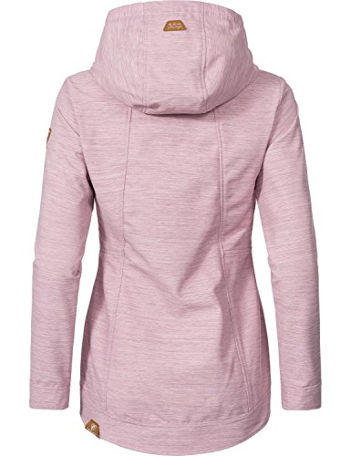 Ragwear Damen Übergangs Outdoorjacke Enrica (vegan hergestellt) Pink Gr. L - 2