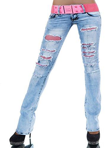 l547-damen-jeans-hose-hufthose-damenjeans-huftjeans-bootcut-schlag-schlaghose-farbenblaugrossen36-s