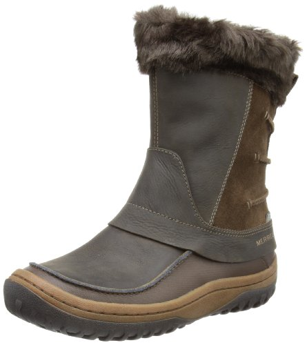 Merrell Decora Minuet Waterproof, Women's Zip Snow Boots - Brown (Mocha), 4...