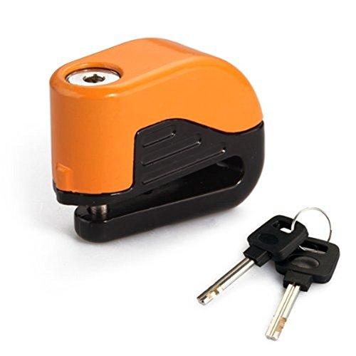 SODIAL(R) Frenos Lock Candado Alarma Alarma de bloqueo de disco para Motocicletas