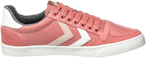 Hummel Slimmer Stadil Duo Oiled Low, Scarpe da Ginnastica Basse Donna Rosa (Faded Rose)