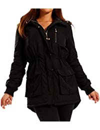 Young-Fashion Women's Parka Hooded Jacket