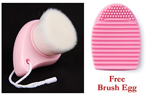 Lifestyle-You™ Imported Deep Cleaning Facial Cleansing Brush Face Pore Brush Sebum Blackhead + Free Brush Egg - The Novelty Makeup Brush Cleaning Tool