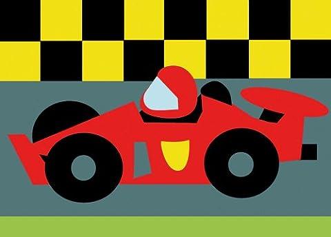 Dmc kit complet tapisserie - la voiture de course