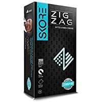 Skore Zig Zag Condoms - 20 Count (Pack of 2, Dotted and Ribbed) preisvergleich bei billige-tabletten.eu