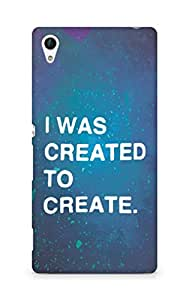 AMEZ i was created to create Back Cover For Sony Xperia Z4