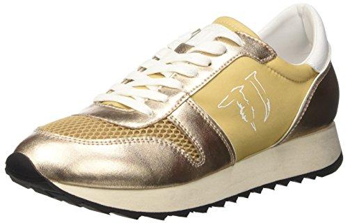 Trussardi Jeans 79S045XX51, Scarpe Low-Top Donna, Oro, 39 EU