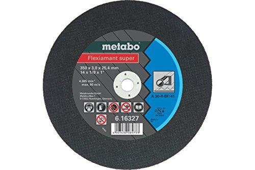 Preisvergleich Produktbild Metabo Flexiamant super Stahl, 350 x 3,0 x 25,4, 616327000