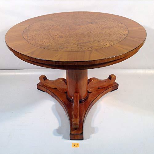 Antiker kleiner Empire Biedermeier Tisch Süddeutsch um 1820. Beistelltisch Teetisch Kirschbaum...